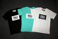 acid t shirts - Printing T Shirt man T shirt acid blue black white shirt Novelty T shirt short sleeve casual t shirt Men s Casual Tops Fashion Men s T Shirt