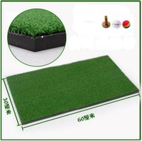 backyard train - 30 cm Mini Golf Mat Kid Golf Backyard Residential Training Hitting Pad Practice Sport Games