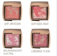 Wholesale Hot Sale New Arrival Hourglass Ambient Lighting Blush Colors Boxed Highlighting Mineralized Face Blusher Powder Makeup Free DHL Ship