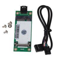 Wholesale Mini PCI E Express to USB Interface Wireless Card Degree SIM Card Slot Adapte