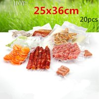 bean bag materials - 25x36cm New material plastic pack bags Thicken vacuum plastic packaging Grains candy coffee bean deli Dried fruit pouchs