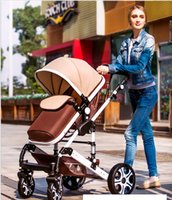 Wholesale Hot Brand New Baby Stroller Bekerhouder Pushchair Lightweight Infant Stroller Prams In Folding Umbrella Carrinho Kid s Love