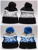 beanies dope - 2017 NEW Dope Knitting Hats Men s Winter Knitted Skull Cap Warm Slouchy Dope Beanie Hat hip hop Gray Black Simple Hats