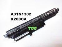 Wholesale New Genu Orgi type battery for ASUS VivoBook X200CA F200CA quot Battery A31N1302 WH V mAh