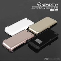 "Cheap Power Charge case cover 5800mAh battery charger for iPhone 6 4.7"" Cell Phone Chargers External Battery Case 4 color"