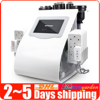 3d lipo Pas Cher-Cavitation à ultrasons 40K 2.0 Fat Burning Sextupole 3D Smart RF Souffrage facial à vide 650nm 5mw Lipo Laser Body Slimming Beauty Machine Spa