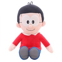 animation for kids - 2016 Japanese Animation express JP Anime Doraemon Nobita Soft Plush Toy Doll for valentine s day gift