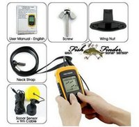 Wholesale Fish Finder Waterproof Wireless Fishfinder For Boat Beach Sea Ice Fishing m Depth