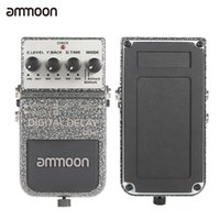 Wholesale ammoon DD Digital Delay Pedal Effect Durable Guitar Effects True Bypass High Quality Guitar Parts Accessories