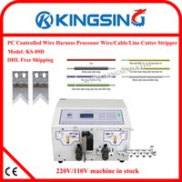 automatic wire stripping machines - automatic wire cutting and stripping machine computer wire stripping peeling machine KS D gift by DHL