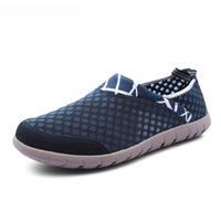 aqua foot - Brand Men s Summer Male Tennis Shoes Breathable Sports Shoes Foot Tide Slip On Casual Water Shoes For Water Sneakers Aqua Shoes