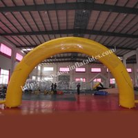 archway decorations - Outdoor Decoration Inflatable Wedding Arch Yellow Inflatable Celebration Archway with Your Logo Customized in Guangzhou China Manufacturer
