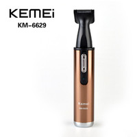 Wholesale Kemei KM Electric Shaving in Nose Hair Trimmer Safe Face Care Shaving Trimmer Nose Hair Clipper For Nose Trimmer