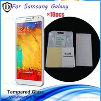 Wholesale 10pcs Screen Protector for Samsung Galaxy Note7 S3 S4 S5 S6 S7 mm H explosion proof tempered glass for samsung Note3