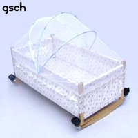 Wholesale Baby bed Netting Baby Mosquito Net Crib Mosquito Curtain Bed folding Crib Netting Crib Netting two size cm cm