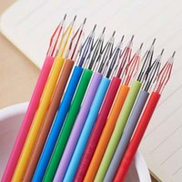 Wholesale High Quality Colors Refills Diamond Head Pen Refills Gel Pen Refills Stationery Creative Papelaria