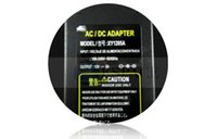 Wholesale Free DHL AC DC Power Adapter V A W Power Supply Adapter with EU US AU UK plug AC Cable