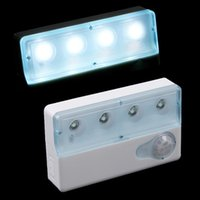 advanced emergency - LED Advanced Infrared PIR Auto Sensor Motion Detector Light Lamp High Sensitivity Anti interference LED Night Light