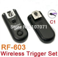 Wholesale YONG NUO RF C1 Flash Trigger Remote Control wireless shutter release c1 model c1