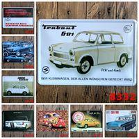 antique bmw - lastest cm classic autocar opel fiat bmw Tin Sign Coffee Shop Bar Restaurant Wall Art decoration Bar Metal Paintings