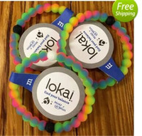 Wholesale New Neon Lokai Bracelet Make A Wish Original Tag Mud from Dead Sea Snow from Mount Everest Hot Sale