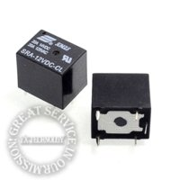 Wholesale 10pcs Power Relay SRA VDC CL power relay V A pin one open one close relay v relay normally open normally closed