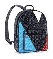 Wholesale Luxury Brand Backpack N41612 Damier Cobal Canvas Leather Mens Backpacks High Quality Men Backpack Designer Brand