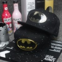 area ball - in some areas Korean fashion style baseball cap outdoor sun hat Superman Batman Sequined Couple cap