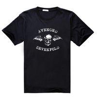 avenged sevenfold shirt - Tee Shirt Avenged Sevenfold Hard Core Metal Punk Rock Summer Men s Cotton Short Sleeve T shirt Fashion O neck Casual