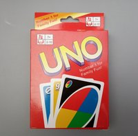 animals board game - new UNO Poker Card Family Fun Entermainment Board Game Standard Edition Kids Funny Puzzle Game Christmas Gifts