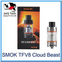 air head tubes - SMOK TFV8 Cloud Beast Tank Thread ml Adjustable Air Slots Top Refilling Replacement Glass Tube V8 T8 V8 Q4 Coil Head