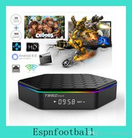 Wholesale Original T95Z PLUS Android TV BOX S912 Octa core cortex A53 G G Android G G Dual band WiFi Bluetooth KODI mart Media Player
