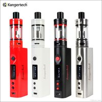 al por mayor auténtico subox mini-1PC Authentic Kanger Topbox Mini 75W Kit Subox Mini Pro Starter Kit Recambio Tank75Watt TC Mod El más nuevo Kit de principiante de KangerTech