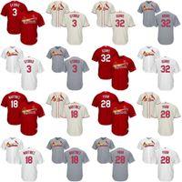 adams boy - Youth Jedd Gyorko Carlos Martinez Tommy Pham Matt Adams St Louis Cardinals kids Baseball Jersey stitched size S XL