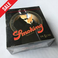 Cheap Smoking Papers 50 Booklets Rolling Papers KING SIZE SLIM Cigarette Papers Cigarette Rolling Paper 33 Leaves Booklets Tobacco Rolling Paper