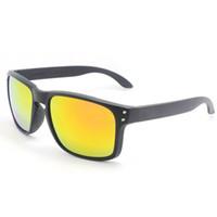 amber brown color - HOLBROOK Sunglasses Men Sport Outdoor Eyewear Classic Sun glasses with original box Oculos de sol gafas lentes