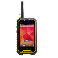 Wholesale Free DHL Runbo X6 G Phone Two Way Radio Watts U V Walkie Talkie Ptt Android Quadcore Dual SIM Waterproof MP NFC g
