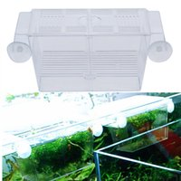 aquarium divider - Plastic Multifunctional Mini Fish Breeding Isolation Box Divider Incubator for Fish Fry Hatchery Tank Aquarium Accessories