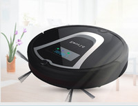 air cleaners for home - Eworld M884 Mini Robot Vacuum Cleaners with Virtual Wall Cleaning Brush with MAH Battery for Home