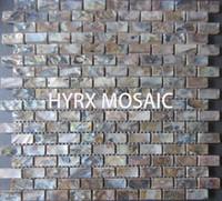 Wholesale HOT Mother of pearl tiles bathroom floor tile backsplash mother of pearl wall tiles kitchen backsplash tile