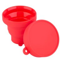 Wholesale Portable Silicone Retractable Folding Cup Telescopic Collapsible Outdoor Bathing tool Hot Selling