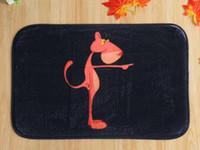 40 * 60cm Rose Leopard Tapis de bain anti-dérapant Tapis molleton Tapis Pour Pour Salle de bain Chambre Paillasson en ligne