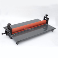 Heated Roll Laminator cold laminator - LBS Desktop inch cold laminator students worker card office file laminator Guaranteed laminating machine