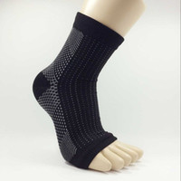 ankle circulation - Black Foot Compression Sleeve Anti Fatigue Angel Circulation Ankle Swelling Relief