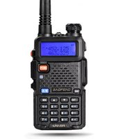 Wholesale High Quality Baofeng UV R MHz MHz Dual Watch Dual Band Handheld VOX TOT Two Way Radio
