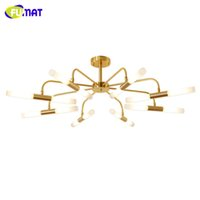 Cheap North European LED Agnes Ceiling Lamp Modern Brief Agnes Roll & Hill Acrylic Shade Lighting Kitchen Hotel Living Room Lamp