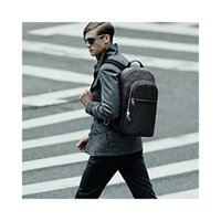 backpacks business - MAN BACKPACK MICHAEL N41330 Boys travel bag Genuine Leather backpack quality Preppy Style bags