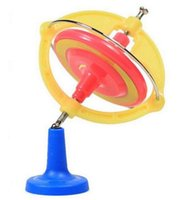 Wholesale New Spinning Top Magic UFO Gyroscope Gyro Kids Toy With Music LED Light