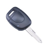 Wholesale Uncut Blade Button Flip Remote Key Shell For Renault Twingo Clio Kangoo Car Keys Blank Case Cover