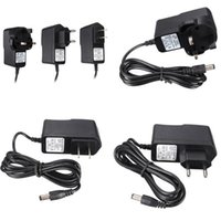 Wholesale New Arrival Black Optional for DC AC V Adapter Charger V A Power Supply mm x mm UK EU US Plug hZ Convenient